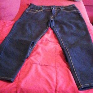 NWOT Dark Blue Jean's